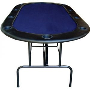 84-Foldable-Texas-Holdem-Poker-Table-Table-Top-Color-Blue-by-JP-Commerce-0
