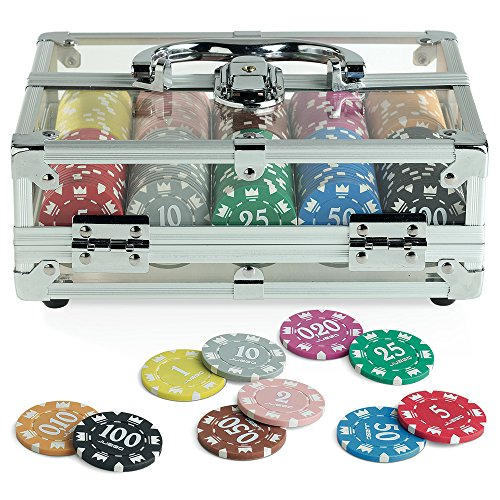 Juego-JU00118-Casino-Poker-Crystal-Standard-200-Jetons-ChipsFiches-14-gr-0