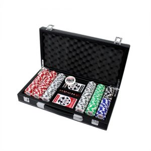 Set-de-Poker-World-Series-of-Poker-300-Jetons-Malette-Cuir-0