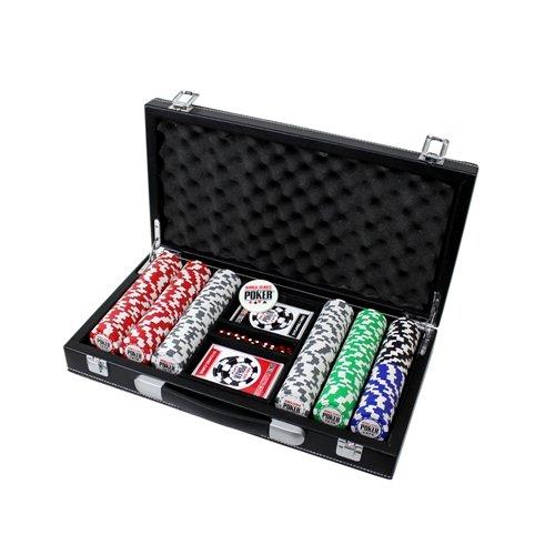 Set-de-Poker-World-Series-of-Poker-300-Jetons-Malette-Cuir-0