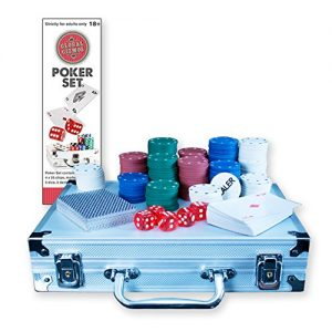 Global-Gizmos-Malette-de-Poker-DsjetonsCartes-dans-tui-en-aluminium-200-pices-0