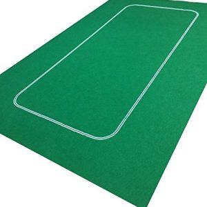 Vert-Texas-HoldemPoker-Casino-feutre-10-cm-Clavier-Pokercartes--jouer-0