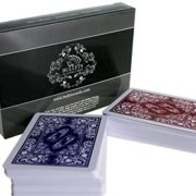 2-Jeux-de-Cartes-de-Poker-en-plastique-de-la-marque-Bullets-Playing-Cards-Index-Jumbo-0-0