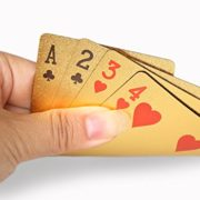 Carte--Jouer-24K-Karat-Feuille-dor-Paqu-EUR-Poker-Jeu-de-Cartes-avec-la-Jolie-Bote-le-Meilleur-Cadeau-0-1