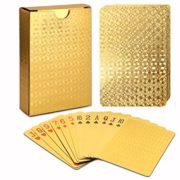 Carte--Jouer-24K-Karat-Feuille-dor-Paqu-EUR-Poker-Jeu-de-Cartes-avec-la-Jolie-Bote-le-Meilleur-Cadeau-0