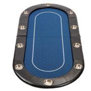 Dessus-de-table-de-poker-de-200-cm-pliable-et-habill-de-bleu-Speed-Cloth-par-Riverboat-0-0