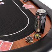 Dessus-de-table-de-poker-pliable-Champion-en-tissu-speed-noir-et-repose-bras-en-faux-cuir-180-cm-0-1