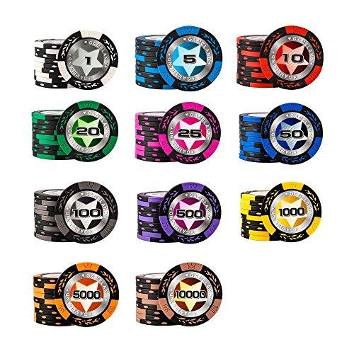 Jetons-de-poker-Composite-dargile-Jeux-de-socit-Articles-de-casino-Jeux-Lun-pour-chaque-couleur-11-pices-0
