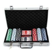 MultiWare-300-Pcs-Jetons-De-Poker-Jeu-De-Casino-Malette-En-Aluminium-Avec-2-Jeux-De-Cartes-0
