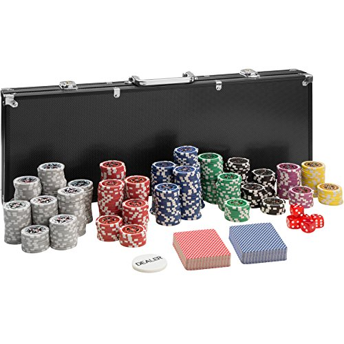 TecTake-Mallette-de-Poker-avec-500-laser-jetons-coffret-de-poker-en-aluminium-incl-5-ds-2-jeux-de-cartes-1-bouton-dealer-diverses-modles-500-pices-noir-no-402560-0