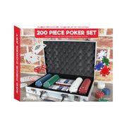 Global-Gizmos-Malette-de-Poker-Dsjetonscartes-Dans-un-tui-en-aluminium-200-pices-0-0