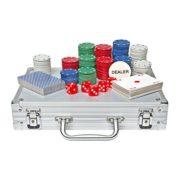 Global-Gizmos-Malette-de-Poker-Dsjetonscartes-Dans-un-tui-en-aluminium-200-pices-0-1