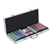 Malette-professionnelle-de-Poker-500-jetons-2-jeux-de-cartes-5-ds-bouton-dealer-2-cls-alu-neuf-14-0-0