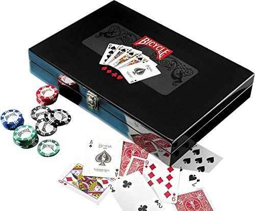 Bicycle-37162-Jeu-de-Socit-Masters-Poker-Set-0