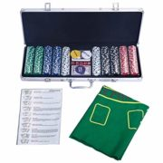 COSTWAY-Malette-Poker-Jetons-Poker-Ensemble-de-500-Jetons-2-Jeux-de-Cartes-5-Ds-1-Bouton-Dealer-Mallette-en-Aluminium-0-0