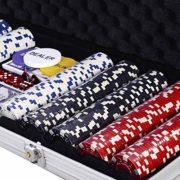 COSTWAY-Malette-Poker-Jetons-Poker-Ensemble-de-500-Jetons-2-Jeux-de-Cartes-5-Ds-1-Bouton-Dealer-Mallette-en-Aluminium-0-1