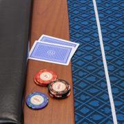 Dessus-de-table-de-poker-pliable-Champion-en-tissu-speed-bleu-et-repose-bras-en-faux-cuir-180-cm-0-1