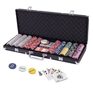 Display4top-Set-de-Poker-500-jetons-Laser-Haute-qualit-12-g-Noyau-en-MtalNoir-avec-tui-en-Aluminium-2-Jeux-de-Cartes-revendeur-Petit-Store-Gros-Boutons-aveugles-et-5-Ds-0