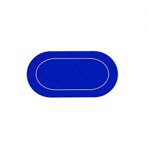 AUTRES-Tapis-de-Poker-Ovale-en-Jersey--Dessous-noprne--Glisse-Parfaite-895-x-180-cm--avec-Housse-de-Transport-Bleu-0
