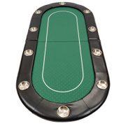 Dessus-de-table-de-poker-de-200-cm-pliable-et-habill-de-vert-Speed-Cloth-par-Riverboat-0-0