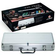 Juego-Ju00379-Mallette-de-Poker-Texas-Holdem-en-aluminium-jeu-de-cartes-100-fiches-Pro-Team-300-0-0