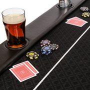 Riverboat-Gaming-Dessus-de-table-de-poker-pliable-Classic-en-en-tissu-speed-et-un-sac--200-cm-0-1