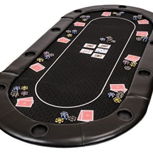 Riverboat-Gaming-Dessus-de-table-de-poker-pliable-Classic-en-en-tissu-speed-et-un-sac--200-cm-0