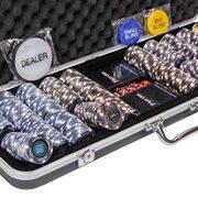 Riverboat-Gaming-Mallette-de-jetons-Pro-Poker-Ensemble-de-500-jetons-de-Poker-numrots-chacun-de-14-g-et-Les-Accessoires-gratuits-0-0