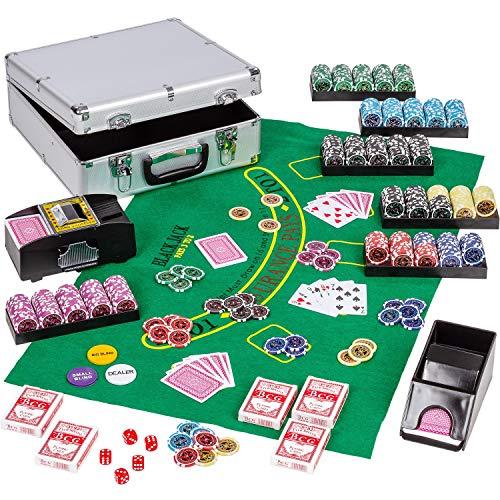 Ultimate-Poker-Set-tui-Alu-Poker-Deluxe-600-jetons-laser-12g-avec-insert-en-mtal-y-compris-un-mlangeur-de-cartes-Distributeur-de-cartes-Poker-Deal-Dice-Dealer-Button-tui-en-aluminium-Jetons-0