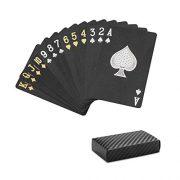 SolarMatrix-Jeu-de-Cartes-tanches-en-Plastique-Diamond-Noir-Nouveaut-Jeu-de-Cartes-54-Jeu-de-Cartes-de-Poker-0-0