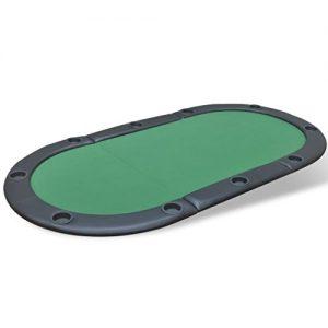 vidaXL-Table-de-Poker-Pliable-pour-10-Joueurs-Vert-Table-de-Jeux-Table--Jeux-0