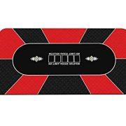 Gameland-Tapis-de-Poker-180-x-90-cm-Rouge-0-0