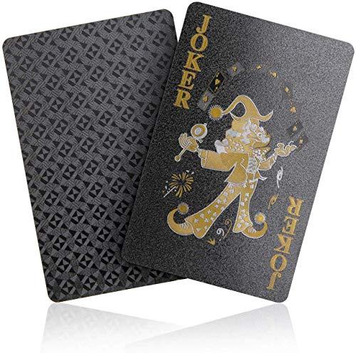 Joyoldelf-Jeu-de-Carte-Poker-Jeu-de-Cartes-54-Feuille-dor-tanches-Avec-Bote-cadeau-Jeu-de-Carte-Magie-Parfait-pour-la-Fte-et-le-Jeu-Noir-0