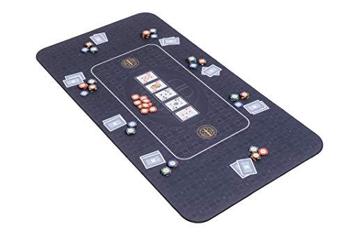 Riverboat-Gaming-The-Broadway-Tapis-de-Poker-en-Noir-de-Dessus-de-Table-de-Poker-140-x-75cm-0
