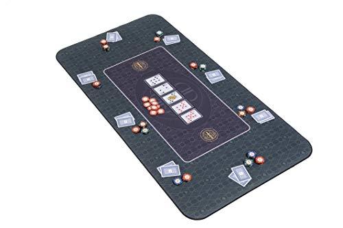 Riverboat-Gaming-The-Broadway-Tapis-de-Poker-en-Vert-de-Dessus-de-Table-de-Poker-140-x-75cm-0
