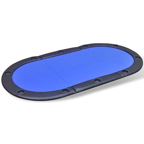 vidaXL-Table-de-Poker-Pliable-pour-10-Joueurs-Bleu-Table-de-Jeux-Table–Jeux-0