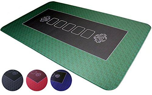 Bullets-Playing-Cards-Tapis-de-Poker-Professionnel-100-x-60-cm-de-pour-Votre-Propre-Table-de-Poker-Plateau-de-Poker-Deluxe-revtement-Table-de-Poker-Tapis-de-Cartes-idal-pour-Un-Cadeau-0