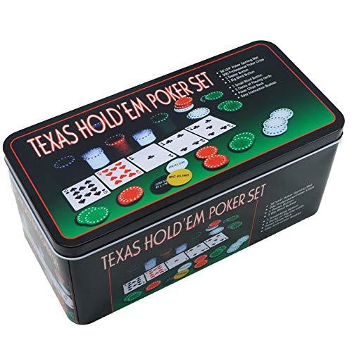 Extraela-Set-de-poker-Bote-en-mtal-200-jetons-de-poker-2-couvertures-bouton-de-rpartiteur-petit-aveugle-grand-aveugle-tapis-de-jeu-0