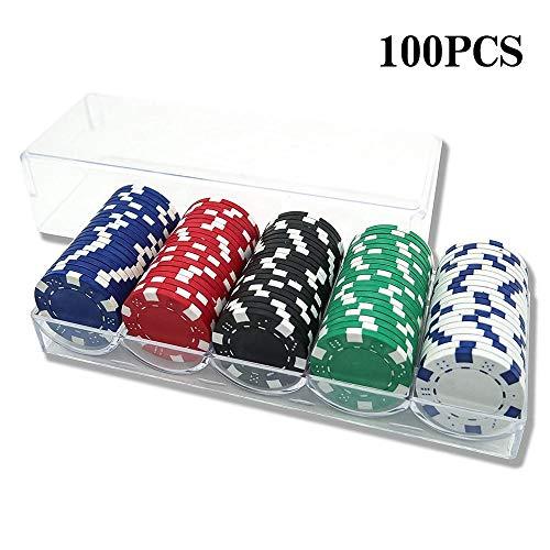 INHEMI-Mallette-de-Poker-avec-100-JetonsJeu-de-Poker-0