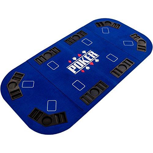 Maxstore-Tapis-de-Poker-Pliable-Straight-XXL-pour-Jusqu-8-Joueurs-160-x-80-cm-Panneau-MDF-8-Porte-gobelets-8-bacs–jetons-Bleu-0