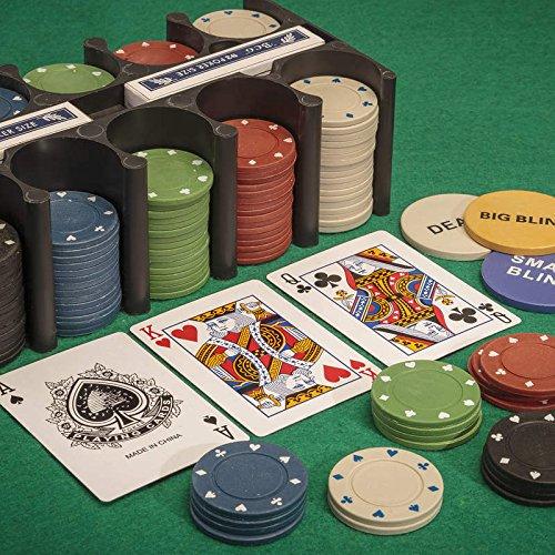 Tobar-21974-Set-de-jeu-de-poker-avec-jetons-cartes-et-tapis-0