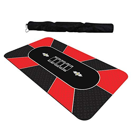 GAMELAND-Tapis-de-Poker-180-x-90-cm-Rouge-0