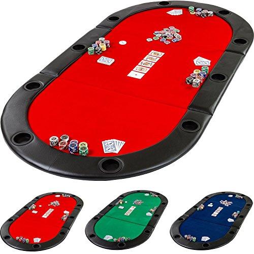 Maxstore-Pad-Pliable-Deluxe-de-Poker-avec-Sac-L-208-x-P-106-x-H-3-cm-Choix-DE-Couleur–Vert-Bleu-Rouge-Panneau-MDF-Massif-accoudoir-rembourr-Dont-10-Porte-gobelets-Pliage-Table-de-Poker-0
