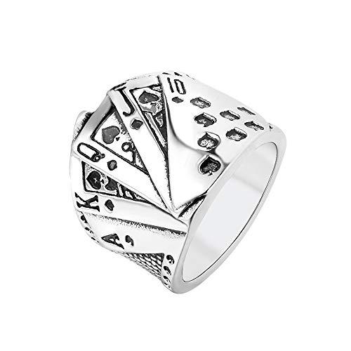 PAMTIER-Hip-Hop-Poker-Carte–Jouer-Bague-de-Motard-pour-Hommes-Acier-Inoxydable-Argent-Taille-60-0
