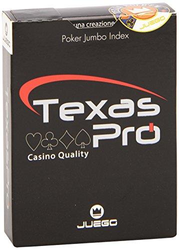 Juego-Ju90033-Texas-Holdem-Pro-Poker-Carte-Noir-0