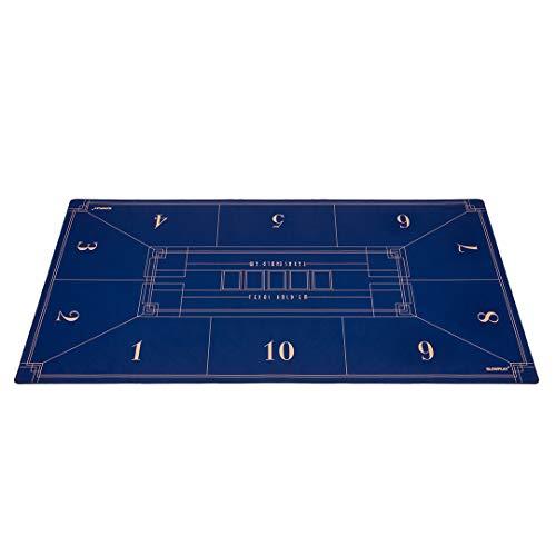 SLOWPLAY-Tapis-de-Poker-Nash-Texas-Holdem-Table-de-Poker-Portable-18090cm-Surface-Lisse-de-qualit-suprieure-rduction-du-Bruit-et-Tube-de-Transport-pour-des-Jeux-Partout-0
