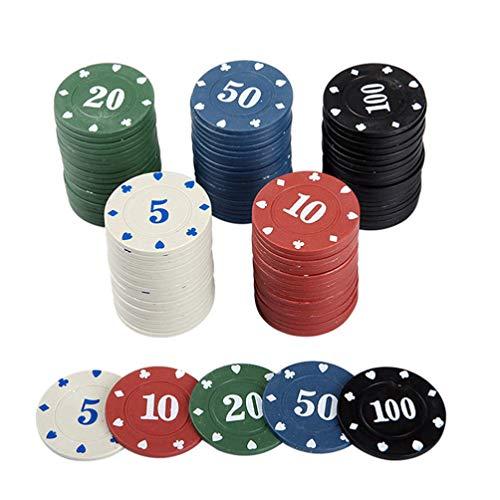 TOYANDONA-Jeu-de-100-Jetons-de-Poker-Jetons-de-Poker-4-Couleurs-avec-tui-Acrylique-pour-Jeu-de-Socit-Multicolore-0