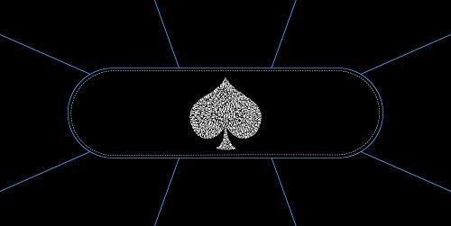 Tapis-de-Poker-Typo-Spade-Rectangle-8-Places-180×90-cm-Fabrication-Franaise-0